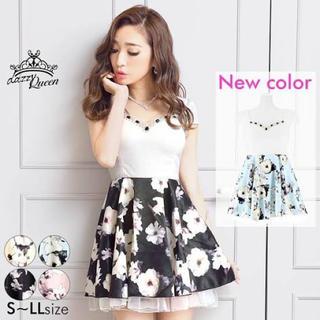 dazzy store - デイジー♥花柄♥フレアドレス♥キャバドレス♥L size