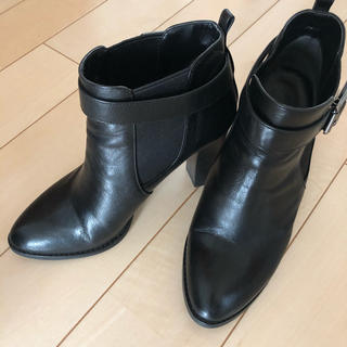 DIANA - DIANA ダイアナ ショートブーツ ブラック 23.5㎝