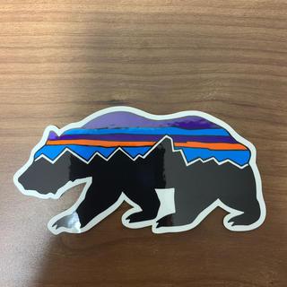 patagonia - 新品パタゴニアステッカーベアー
