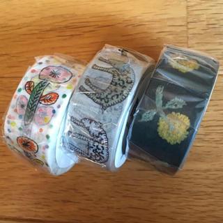 mina perhonen - mtミナペルホネン  マスキングテープ 20mm幅 3点セット廃盤含む
