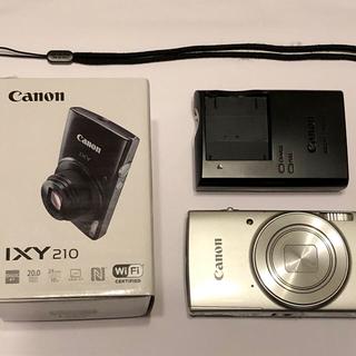 Canon - 【美品】Canon キャノン IXY210 シルバー 光学10倍ズーム