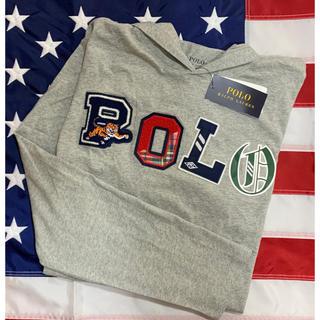 POLO RALPH LAUREN - ★SALE ★ラルフローレンフーデッドTシャツS/140
