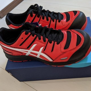 asics - アシックス安全靴 27.5cm ウィンジョブCP103赤 新品未使用