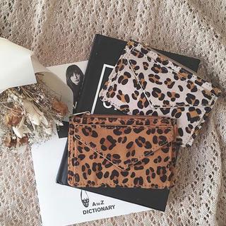 リリーブラウン(Lily Brown)の【即購入厳禁】Lattice♡レオパード ミニ財布+.* 三つ折り コインケース(財布)