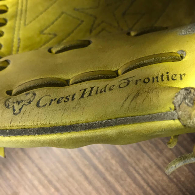 MIZUNO(ミズノ)のミズプロ硬式・投手用グローブ スポーツ/アウトドアの野球(グローブ)の商品写真