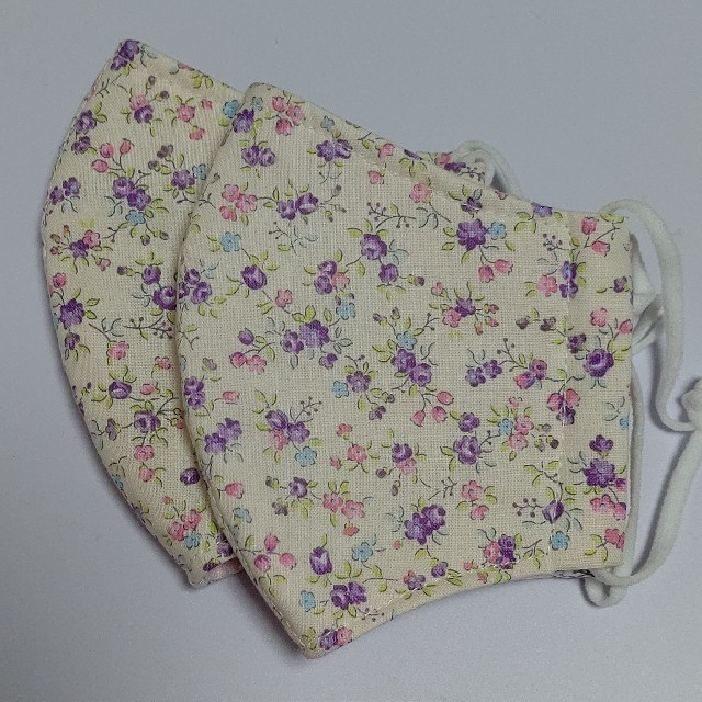 立体型マスク1 ピンク系の通販 by はぶりのさと's shop