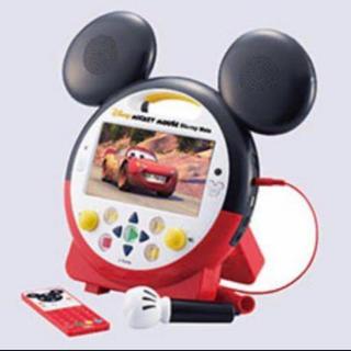 ディズニー(Disney)のDWE ポータブルプレイヤー ミッキーメイト(ブルーレイプレイヤー)