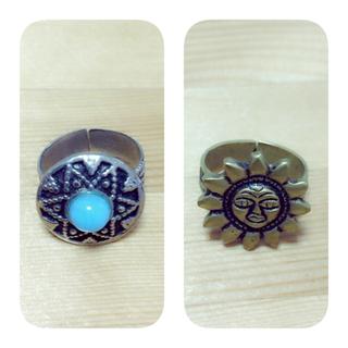 マライカ(MALAIKA)の指輪2個セット(リング(指輪))