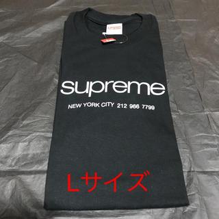 Supreme - Supreme 2020ss Shop Tee 黒 Lサイズ