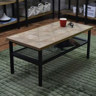 【送料無料】Kaleido Center Table(ローテーブル)