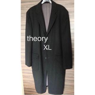 theory - セオリー  カシミヤ・キャメル  チェスターコート 42 LL 黒