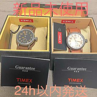 タイメックス(TIMEX)の【新品未使用】TIMEXミジェット腕時計ペア‼️(腕時計(アナログ))