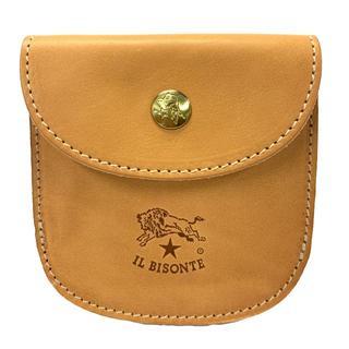 IL BISONTE - 【 新品 】 IL BISONTE イルビゾンテ レザーコインケース ナチュラル