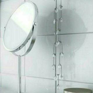 イケア(IKEA)の即発送お値下げイケア( ・∀・)IKEA 鏡TRENSUM 両面ミラー 片面拡大(ミラー)