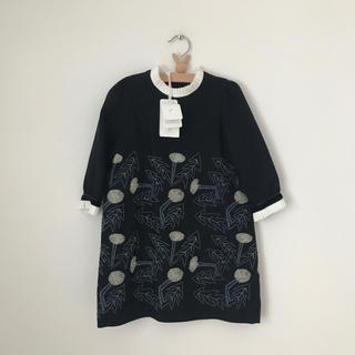 ミナペルホネン(mina perhonen)のmina perhonen ceremony dress  tanpopo(ドレス/フォーマル)