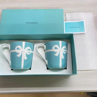 ティファニー(Tiffany & Co.)のティファニー マグカップ 2つ(日用品/生活雑貨)