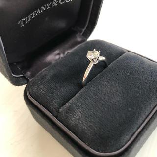 ティファニー(Tiffany & Co.)のティファニー セッティングエンゲージリング ソリティア ダイヤモンドリング 指輪(リング(指輪))