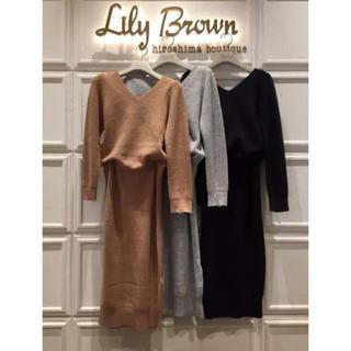 リリーブラウン(Lily Brown)のリリーブラウン 篠原涼子さん着用ワンピース💓(ひざ丈ワンピース)