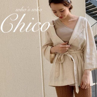 who's who Chico - 僅か⚠️人気🌿¥6490【Chico 】⚑⚐ミディシャツジャケット