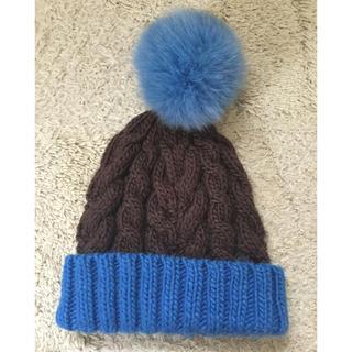 エルディーエス(LDS)のニット帽(ニット帽/ビーニー)