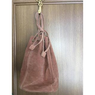 サマンサモスモス(SM2)のSM2 豚皮巾着バッグ(ハンドバッグ)
