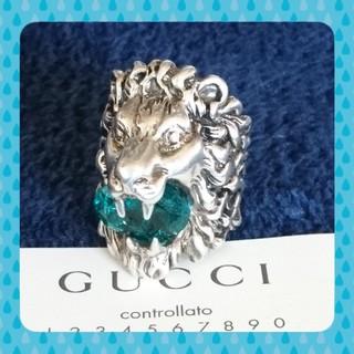 Gucci - GUCCI ライオンリング
