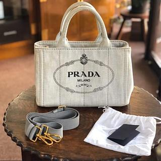 PRADA - PRADA プラダ カナパ トートバッグ 2way カナパミニ