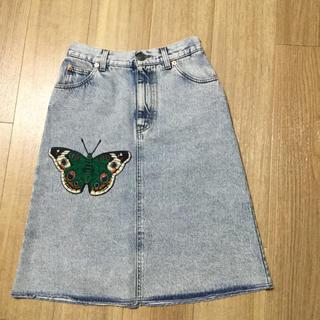 Gucci - Gucci デニム スカート