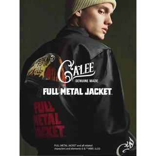 キャリー(CALEE)のNEW!FULL METAL JACKET M size black(ナイロンジャケット)