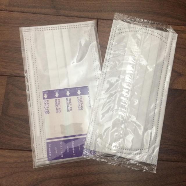 布マスク子供用 - 個包装 使い捨てマスクの通販 by マミーs shop