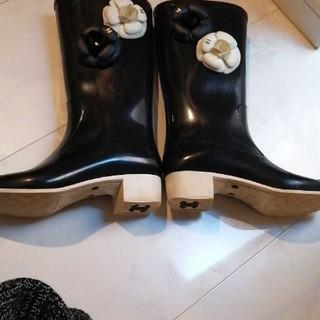 CHANEL - シャネル レインブーツ 長靴 サイズ37