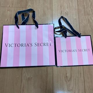 ヴィクトリアズシークレット(Victoria's Secret)のヴィクトリアシークレット ショップ袋 2点セット(ショップ袋)