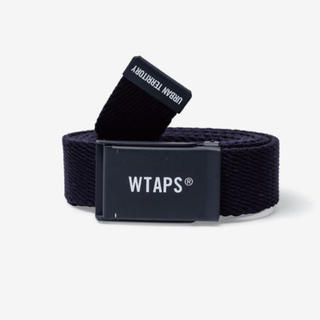 W)taps - WTAPS WEBB 01 BELT ベルト ネイビー