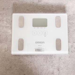OMRON - omron 体重計