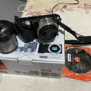 SONY - ミラーレス一眼 Sony NEX-5D ダブルレンズキット