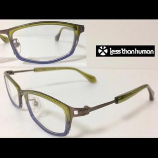 レスザンヒューマン(LESS THAN HUMAN)のメガネ less than human レスザンヒューマン solle 9610(サングラス/メガネ)