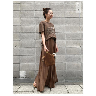 L'Appartement DEUXIEME CLASSE - 新品タグ付き◆ L'Appartement ◇Wash Maxi ワンピース