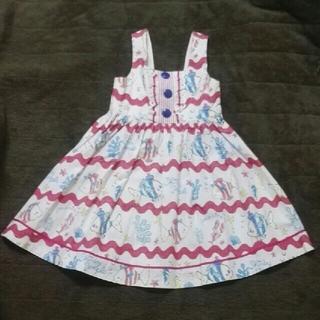 Shirley Temple - シャーリーテンプル ジャンパースカート 110cm