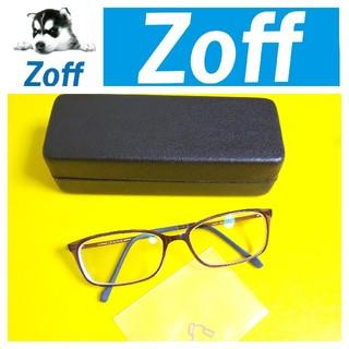 【訳あり】Zoff SMART★度あり眼鏡 メガネ(遠用)★中古品