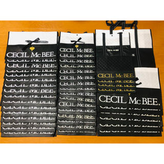 CECIL McBEE - ☆CECIL McBEE ショッパー まとめ売り44枚☆