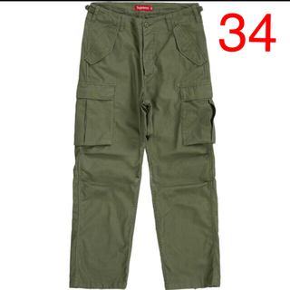 Supreme - supreme cargo pant olive 20ss オリーブ 34