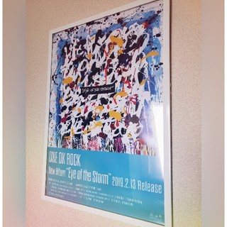 "ONE OK ROCK - ONE OK ROCK ""EYEOFTHESTORM"" 宣伝用ポスター"