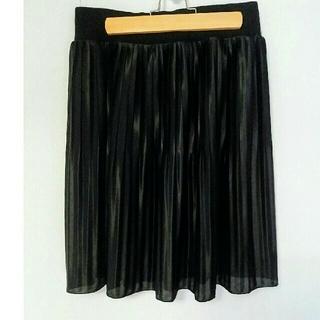 2wayプリーツスカート(ひざ丈スカート)