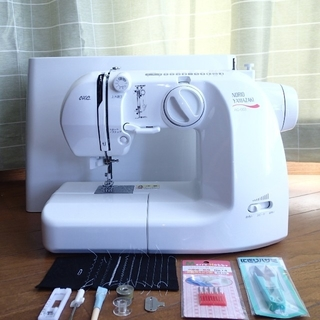 アックスヤマザキ 山崎範夫 電子ミシン AG-003 通販生活 糸通器付