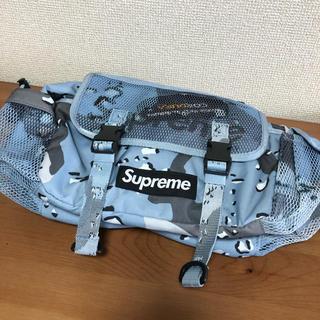 Supreme - Supreme waist bag blue camo ウエストバッグ カモ