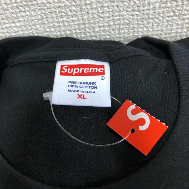 Supreme(シュプリーム)のsupreme Cherry Tee xl black 立ち上げ 新品未使用 メンズのトップス(Tシャツ/カットソー(半袖/袖なし))の商品写真