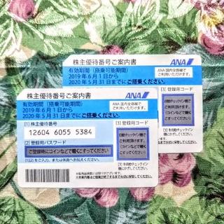 ANA(全日本空輸) - ANA 株主 優待券 2枚セット④