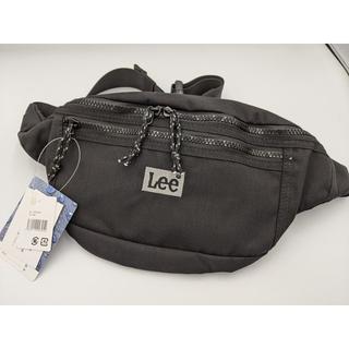 リー(Lee)の新品 Lee リー ボディバッグ 撥水加工 BK(ボディーバッグ)