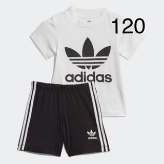 adidas - 新品!アディダスキッズ半袖セットアップ