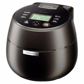 ミツビシ(三菱)のあす様専用MITSUBISHI 三菱 炊飯器 黒真珠 NJ-AWA10-B 新品(炊飯器)